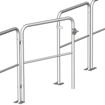 Gate for universal railing, standard