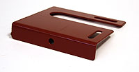 Bracket for railing (Lacquered in red) - RKS1200