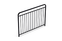 Universal railing childproof  (1500 mm) (Lacquered in black (RAL 9005)) - SUB1542